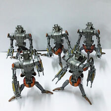 "5pcs Star Wars The Clone Wars Destroyer Droid CW29 TCW #17 Droideka 3.75"" FIGURE"