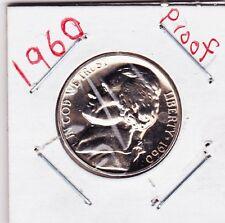 1960  Jefferson nickel in PROOF condition j4