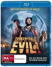 Tucker And Dale Vs Evil - Blu Ray New/Sealed Region ABC