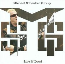 Live & Loud by Michael Schenker/Michael Schenker Group (CD, Jul-2013,...