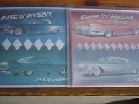Rockabilly/rock 'n' roll cd- RARE 'N' ROCKIN'!! Volumes 1 & 2