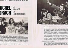 COUPURE DE PRESSE CLIPPING 1975 MICHEL DRACH   (3 pages)