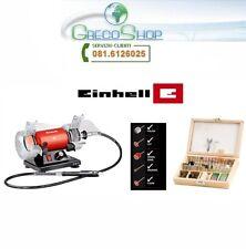 Doppia Mola con mini trapano/drill e accessori 75mm 120W Einhell - TH-XG 75 KIT
