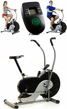 Fan Bike Indoor Exercise Stationary Fitness Cardio Workout Home Gym Bicycle Ride
