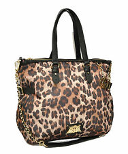 Juicy Couture Malibu Nylon Lauryn Oversized Cheetah Leopard Tote NWT MSRP $198