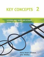 Listening, Note Taking, and Speaking Across the Disciplines Bk. 2 by Elena...