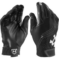 under armour boys youth clean up v baseball batting gloves heatgear large black