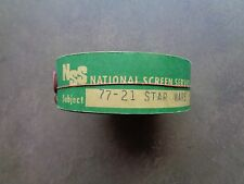 STAR WARS, Original 1977 35mm Movie Theater Trailer ,NATIONAL SCREEN SERVICE
