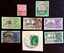 ANTIQUE RARE COLLECTIBLE SET OF INDIA INDIAN POSTAGE STAMPS