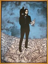 2012 Jack White - Omaha Silkscreen Concert Poster by Rob Jones S/N