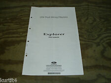 1994 Ford Explorer wiring diagram schematic SHEET service manual