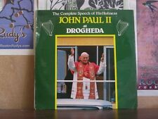 POPE JOHN PAUL II AT DROGHEDA -COMPLETE SPEECH IRISH LP