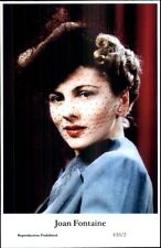 Beautiful Actress Joan Fontaine E53/2 Swiftsure 2000 Postcard GREAT QUALITY