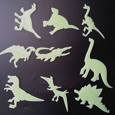 9Pcs Fluorescent Dinosaur Shape DIY Wall Window Stickers Bedroom Home Decor DIY