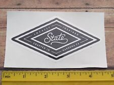 Beer STICKER    STATE Brewing Co ~ Gardena, CALIFORNIA    Locally Inspired Brews