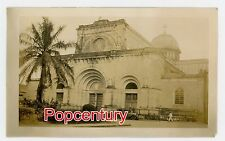 Philippines 1934 Vintage Photograph Manila Cathedral