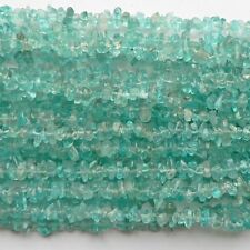 "Apatite Chip Beads 35"" Strand Semi Precious Gemstone"