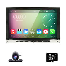 Quad Core 2Din Android 4.4 Car DVD Player GPS Navi Auto Stereo Radio WiFi 3G+CAM
