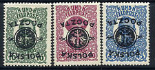 POLAND 1918 Inverted overprints on Austrian charity issue LHM / *