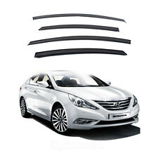 New Smoke Window Vent Visors Rain Guards for Sonata 2011 - 2013