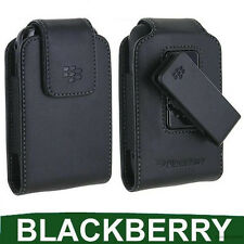 Genuine BlackBerry Curve 8520 Pelle Custodia Case Cover Smartphone Cellulare