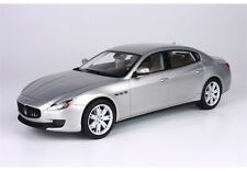 BBR 2013 MASERATI QUATTROPORTE DETROIT PRESS  SILVER 1:18 P1861A LE 100pc*New!