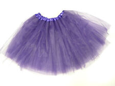 Womens Ladies Girls Hen Night Purple Christmas Tutu Net Skirt Fancy Dress Party