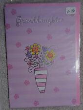 """Valentine Card with Envelope  """"Granddaughter"""" (V-40)"""