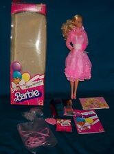 1983 Mattel Barbie Doll Happy Birthday