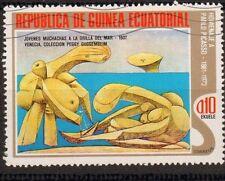 Pablo Picasso Cubisme Guinea Equatorial Guinée Equatoriale Timbre Stamp
