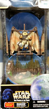 1998 STAR WARS POWER OF THE FORCE POTF COMPLETE GALAXY ENDOR W/ EWOK FIGURE MISB