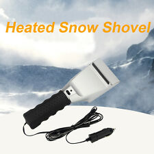 New Winter Electric Car Heated Snow Brush Shovel for Car Windshield and Windows