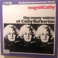 LP- Cathy Berberian ‎– MagnifiCathy (The Many Voices Of Cathy Berberian)