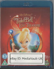 TINKERBELL AND THE LOST TREASURE DISNEY BLU RAY - NEW AND SEALED - UK