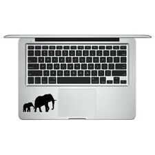 Elephant & Baby Silhouette for Macbook Trackpad laptop Car Window Decal Sticker