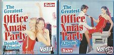 THE GREATEST OFFICE PARTY DOUBLE 20 TRACK THE SUN  PROMO CD (FREE UK POST)