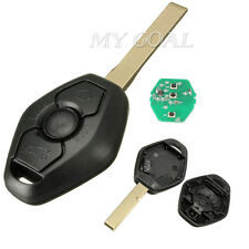 Entry Remote Key Fob Keyless 315 / 433MHz TRANSPONDER CHIP +Blade F/ BMW E46 E39