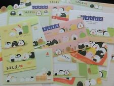 Sushi Rice Ball Letter Set Writing paper envelope stationery cute kawaii san-x