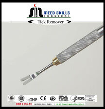 Quality Tick Remover Stainless Steel Dogs Cats Horses  People. UK