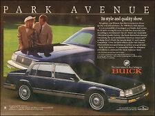 1989`Print Ad for Buick 1990 Park Avenue`Black 4-door (081515)