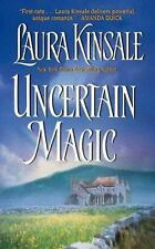 BUY 2 GET 1 FREE Uncertain Magic by Laura Kinsale (1987, Paperback)