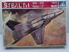 "Italeri 821 Soviet Stealth MiG-37B ""Ferret-E"" 1:48 Neu & versiegelt"