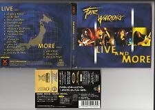 FAIR WARNING - Live & More 2 CD 1998 XRCN-2032-3 JAPAN OBI HARD ROCK