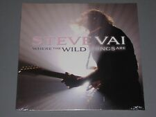 STEVE VAI Where the Wild Things Are 2 LP  New Sealed