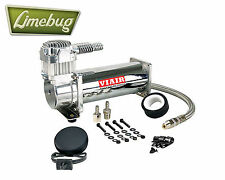 Viair 444C Chrome 12 Volt Air Compressor Kit (200PSI) Air Ride Air Lift