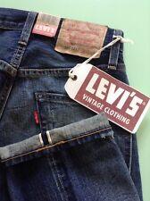LEVIS 505 BIG E 1967 SELVEDGE REDLINE JEANS LVC SIZE 28X 34 SEE DESCRIPTION BNWT