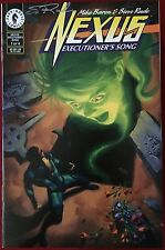 Nexus: Executioner's Song (1992) #1, 3 & 4 - Signed By Steve Rude - Dark Horse
