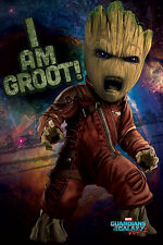 GUARDIANS OF THE GALAXY 2 ANGRY GROOT BABY 91.5X61CM MAXI POSTER NEW OFFICIAL