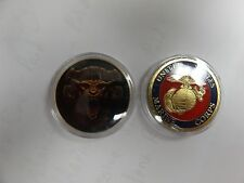 CHALLENGE COIN FREE CAPSULE SHIPPING US MARINE CORPS TEUFEL HUNDEN DEVIL DOGS