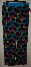 NWT WOMENS JOE BOXER NOVELTY RAINBOW LEOPARD POLKA DOTS PAJAMA PANTS  SIZE M